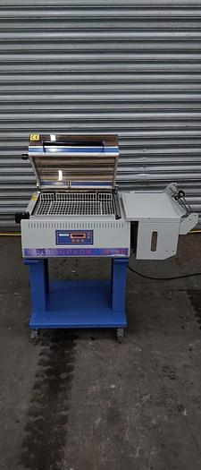 Used Audiopack Chamber Shrink Wrapping Machine