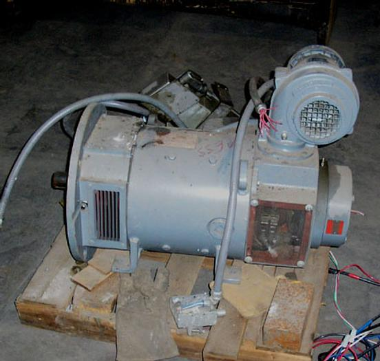 Used 40 HP General Electric DC Motor