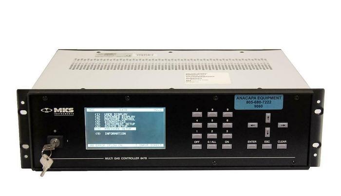 Used MKS Instruments Multi Gas Controller 647B 647B4R1TE USED (9060)R