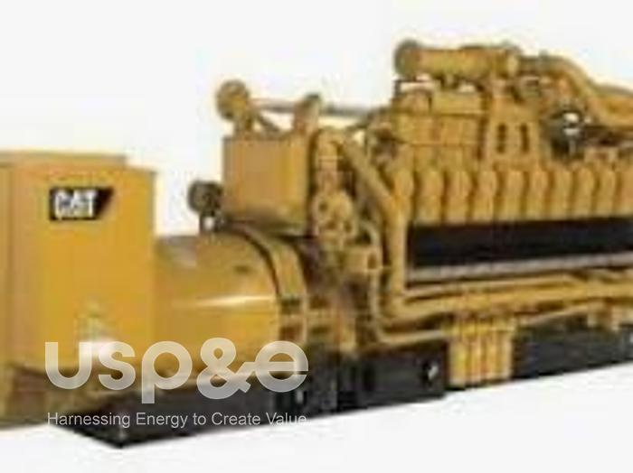 Used 2 MW 2007 Used Caterpillar 3520C Diesel Generator Sets
