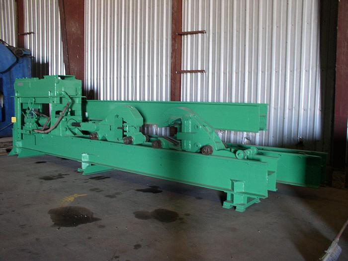 """40 Ton Wean-United Extrusion Stretcher; 60"""" stroke; 58' of track"""