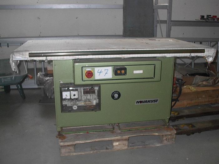 Gebraucht Dämpftisch NOVAKUST  330/D8 175x90