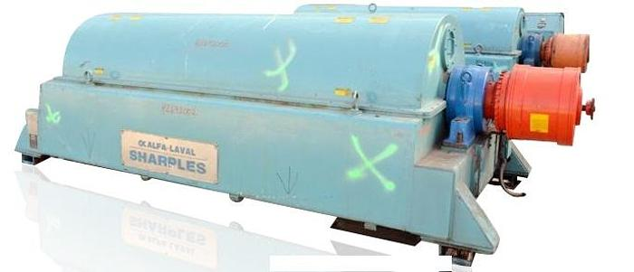 Used SHARPLES DS-706 SUPER D-CANTER CENTRIFUGE - 317 S/S