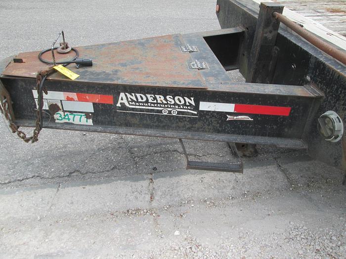 Anderson 10 ton Deck-over Equipment Trailer