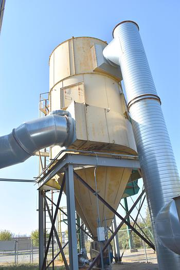 Used Pneumafil baghouse dust collector, Used 46,000 CFM dust collection system.