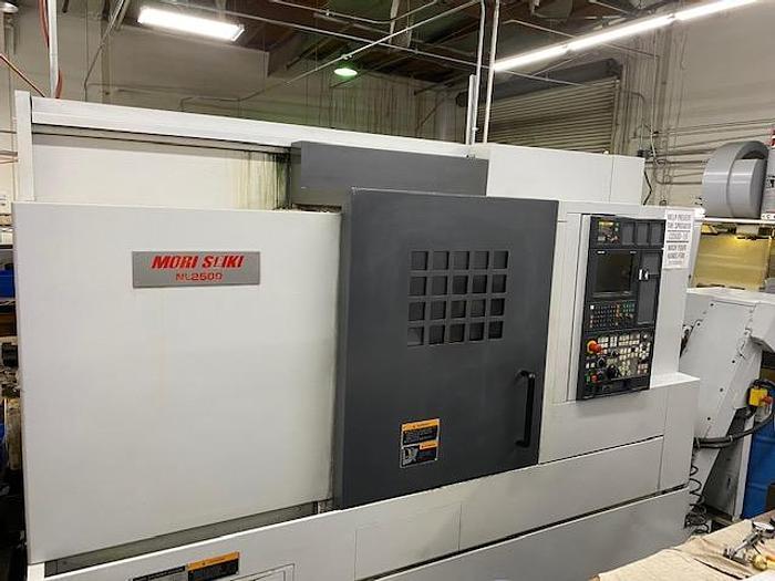 Used 2005 MORI SEIKI  NL-2500/700 CNC TURNING CENTER LATHE  MSX-850 CONTROL #5747