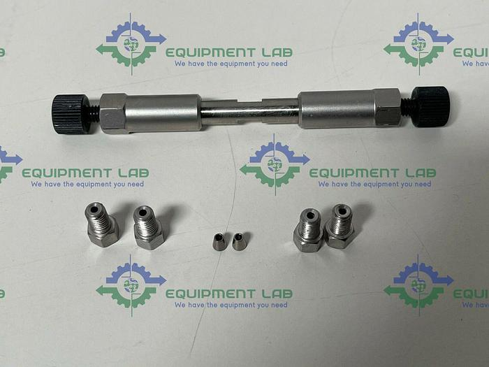 """Used UHPLC Mixer 60 µL with 2 nuts and 2 ferrules w/ Special SS Int Gland Nut 1/16"""""""
