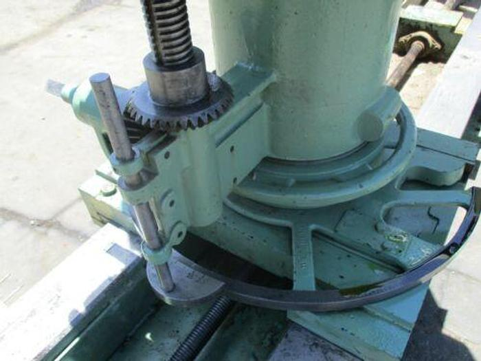 "MEDALIST-BELL MODEL 424, 80"" DOUBLE-END TRIM & BORE MACHINE"