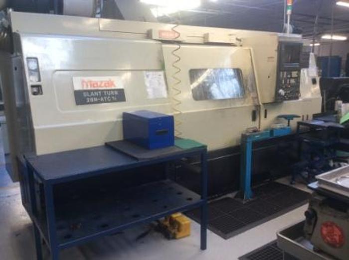 Used 1990 Mazak Slant Turn 28N ATC CNC Lathe