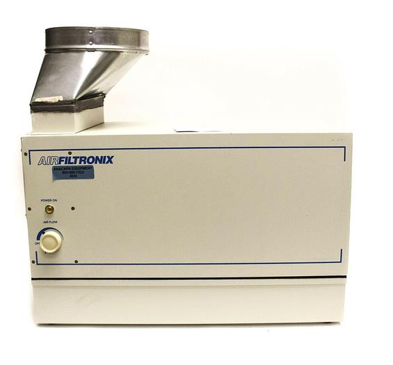 Used AirFiltronix HS3000 Fume Extractor, PreFilter & Vent Adapter VK-1 (4036)