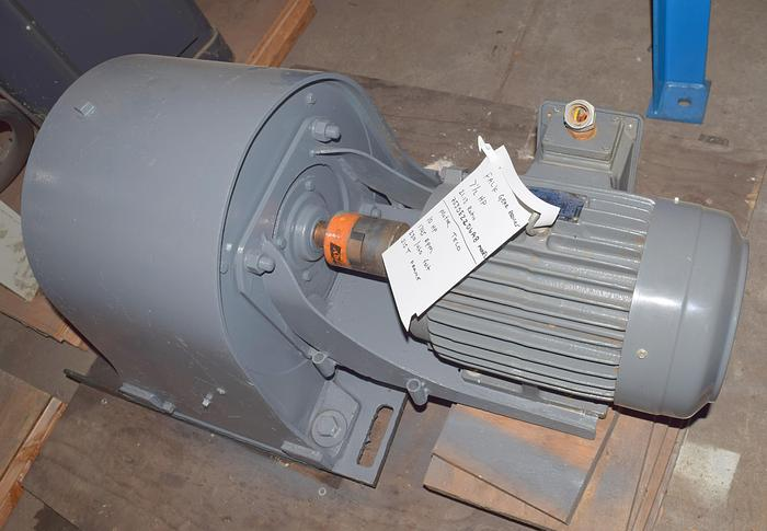 Used Falk gear reducer 82 rpm gearbox, used 82rpm falk motor reducer, 82rpm gear reducer, Teco Westinghouse10HP