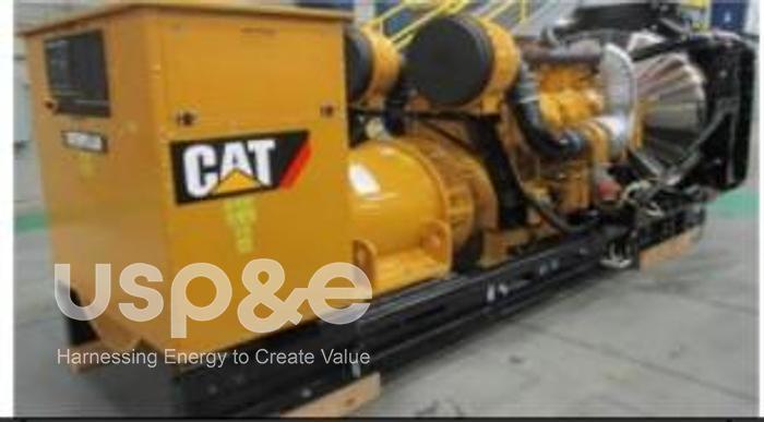 Used .80 MW 2021 USED CATERPILLAR C32 DIESEL GENERATOR SETS