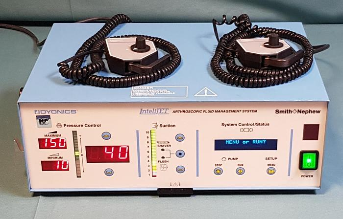 Gebraucht Smith+Nephew Dyonics IntelliJET Arthroskopisches Fluidmanagementsystem HERMES-Steuereinheit 7210064