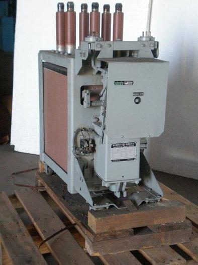 Used 4,160 volt / 1,200 amp GENERAL ELECTRIC Model AM-4.16-75-1 Magne-Blast Air type Circuit Breaker