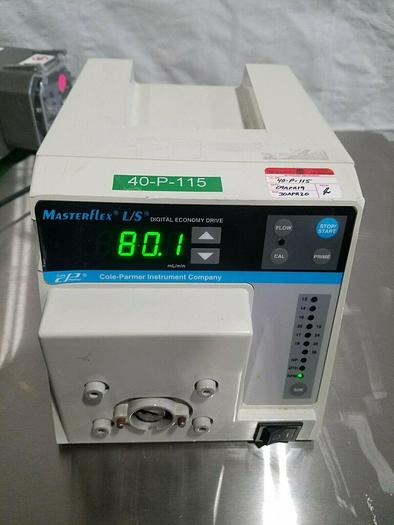 Used Cole-Palmer MasterFlex L/S Digital Economy Peristaltic Drive Model 7524-50