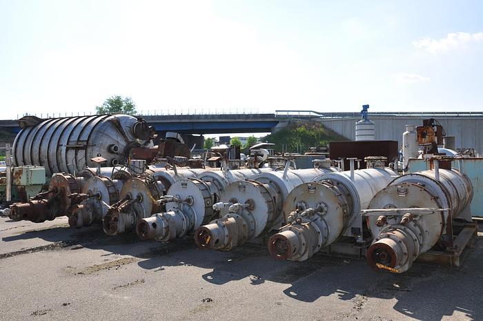 Usata Essiccatore - Degasatore in continuo 125 lt/h