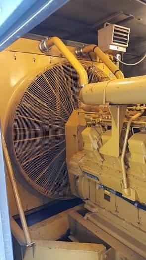 1.75 MW 1995 Used Caterpillar D3516 Diesel Generator Set