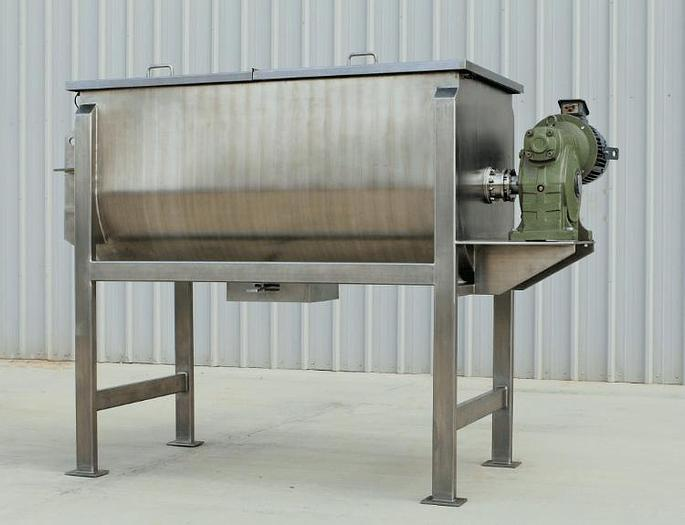 Used NEW – 50 CU. FT. DOUBLE RIBBON BLENDER – S/S