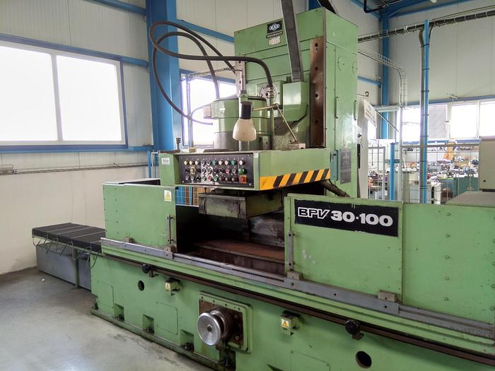 Used TOS BPV 1000 x 300 Rotary Surface Grinder - 1992