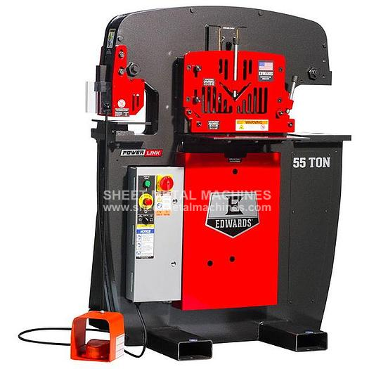 EDWARDS 55 Ton Ironworker IW55