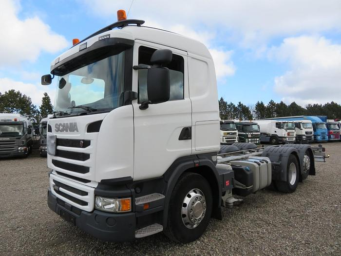 Meget god 2015 Scania G450 6x2*4 ADR Chassis Euro 6