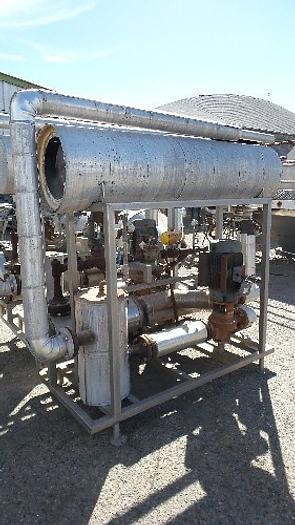 Used Bell & Gossett Type Hot Water Heat Set #2225