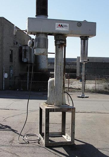 Used 10 HP COWLES HIGH SPEED DISPERSER – AIR/OIL – UL LISTED (#9646)