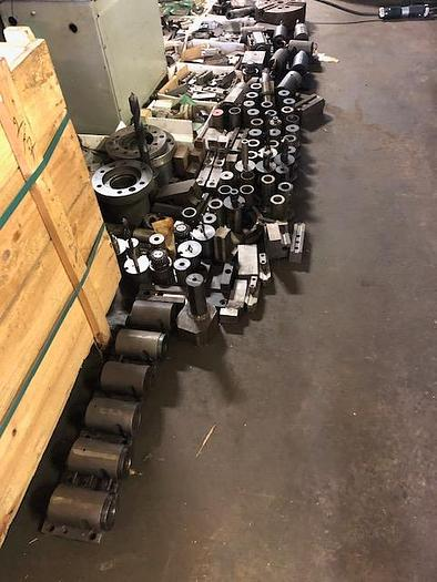 WASINO LJ-63M CNC Lathe, FANUC 10T control, Live Tooling, Tons of tooling !!