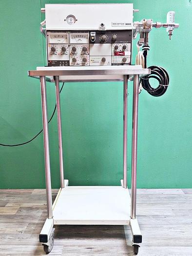 Gebraucht Siemens Elema AB Servo Ventilator 900 D Beatmungsgerät auf Trolley