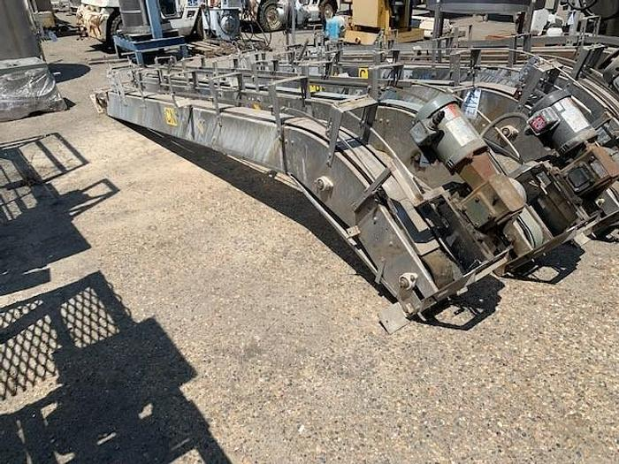 Used Golden State Magnetic Incline Can Conveyor