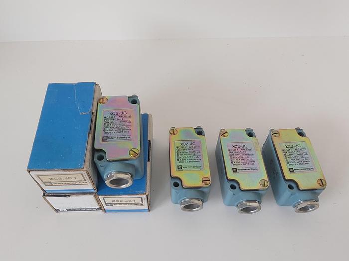 7 Stück Endschalter, XC2-JC, ZC2 JC1, Telemechanique,  neu