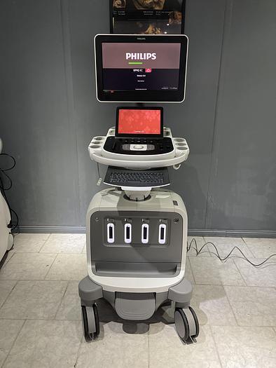 Gebraucht Philips EPIQ5 Ultraschallsystem mit Sony Drucker