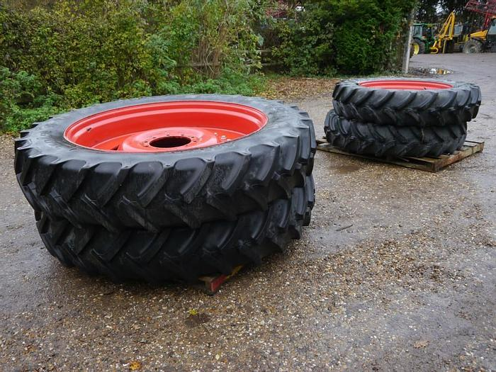 Used Fendt Row Crop Wheels and Tyres