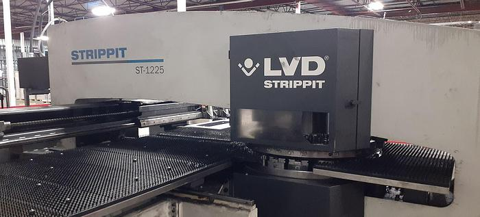 Used 2010 22 Ton Strippit ST-1225 CNC Turret Punch