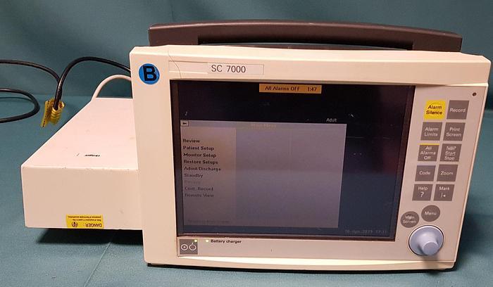 Gebraucht Siemens Patientenmonitor SC 7000