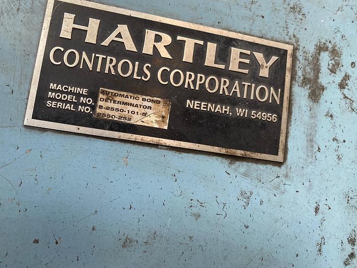 HARTLEY BOND DETRMINATOR