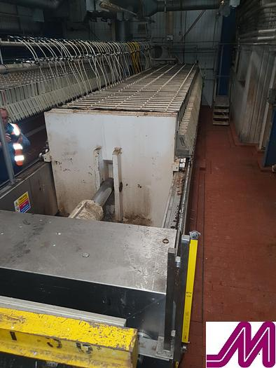Used Meura 2001 Hydraulic Filter Press
