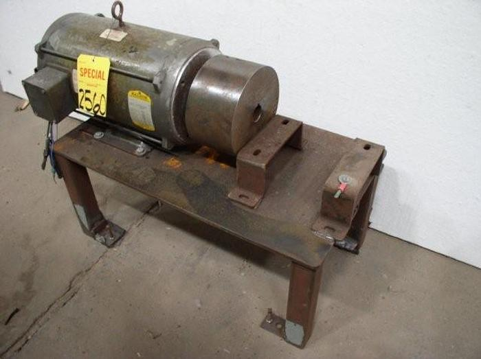 Used 7.6 HP BALDOR Brushless Servo AC Motor
