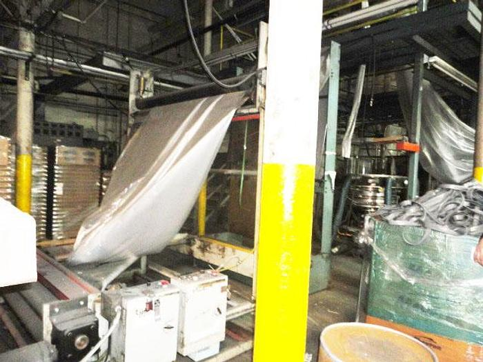 """Used 4 1/2"""" Blown Film Line Gloucester Extruder"""