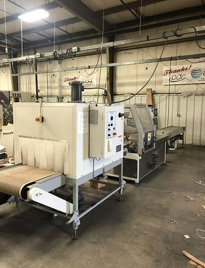 Used TEXWRAP MODEL 1810EH AUTOMATIC SIDE SEALER W/ TUNNEL
