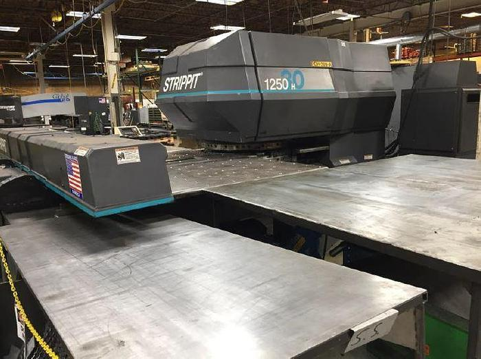 1998 33 Ton Strippit 1250H/30 CNC Turret Punch