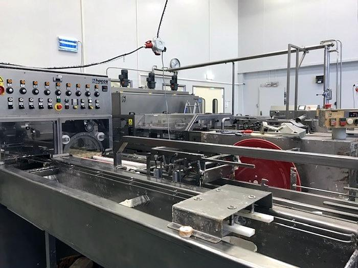 Hacos semi automatic chocolate moulding line