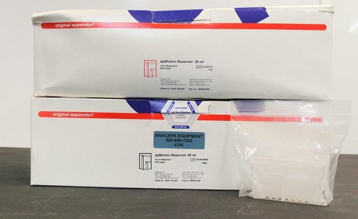 Eppendorf epMotion Reservoir 960051009 30 ml PCR Sterile Lot of 91 NEW (4785)