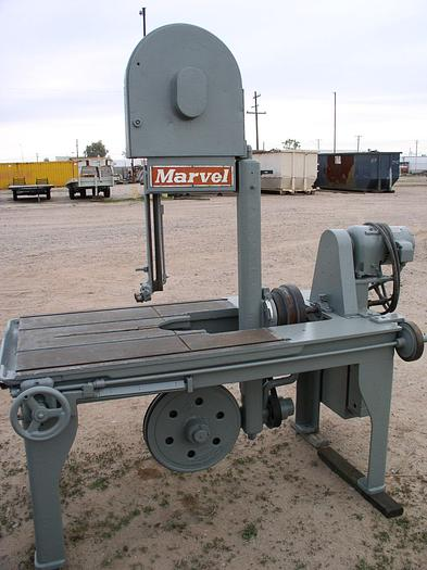 """18"""" Marvel Model 8/M8 Series #8 Vertical Band Saw; S/N 810680-A"""
