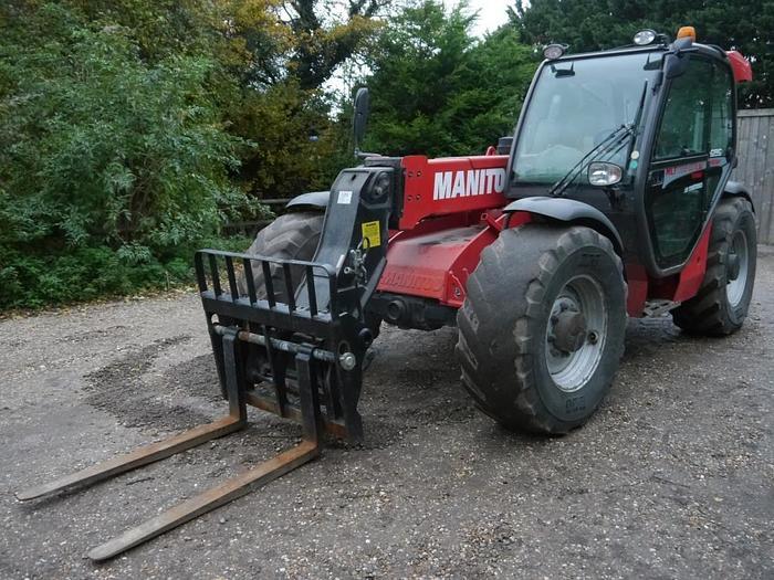 Used Manitou MLT 735-120 LSU Telehandler