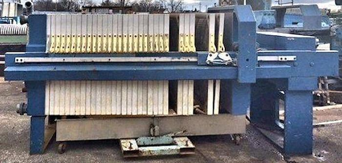Used 35 CU. FT. INDUSTRIAL FILTER PRESS – 1200 MM – C.G.R.