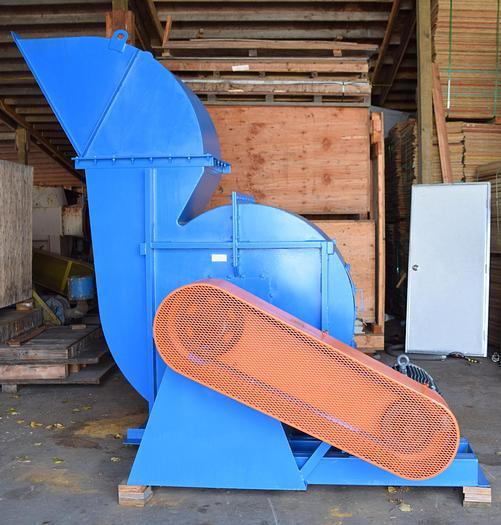 Used Twin City Fan backward curved fan, size 400, type: HIB-SW, class 20, 75hp