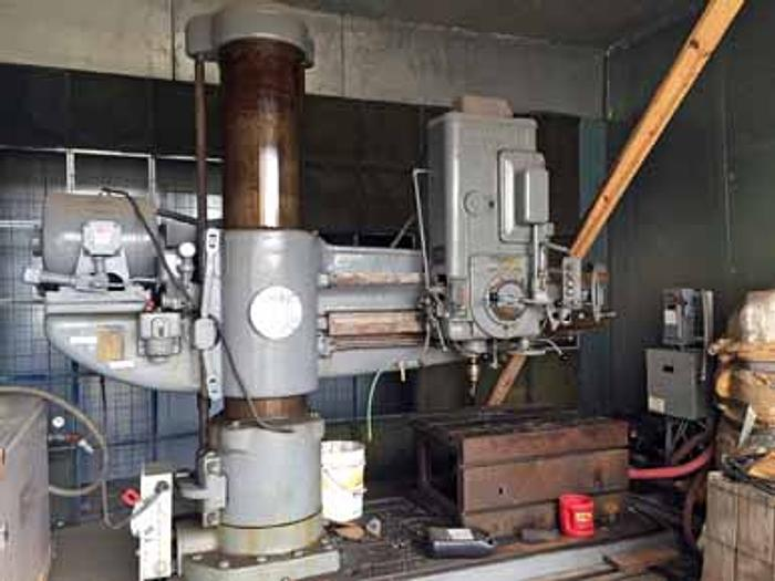 "4' x 15"" CINCINNATI BICKFORD SUPER SERVICE RADIAL DRILL, 1953"