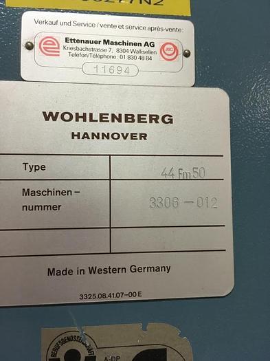 1997 Wohlenberg Golf 6001
