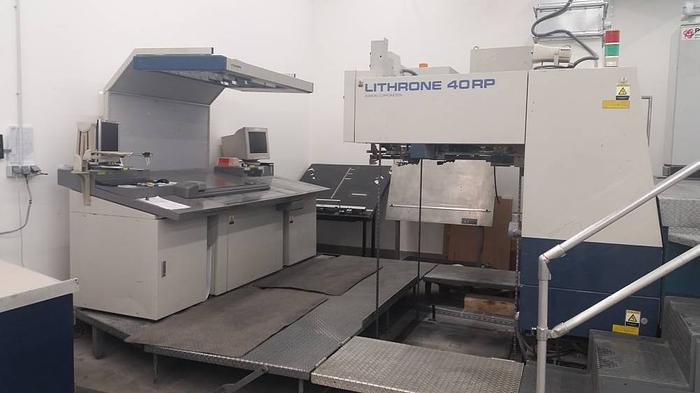 1999 Komori Lithrone 540